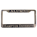 LICENSE PLATE FRAME CHROME